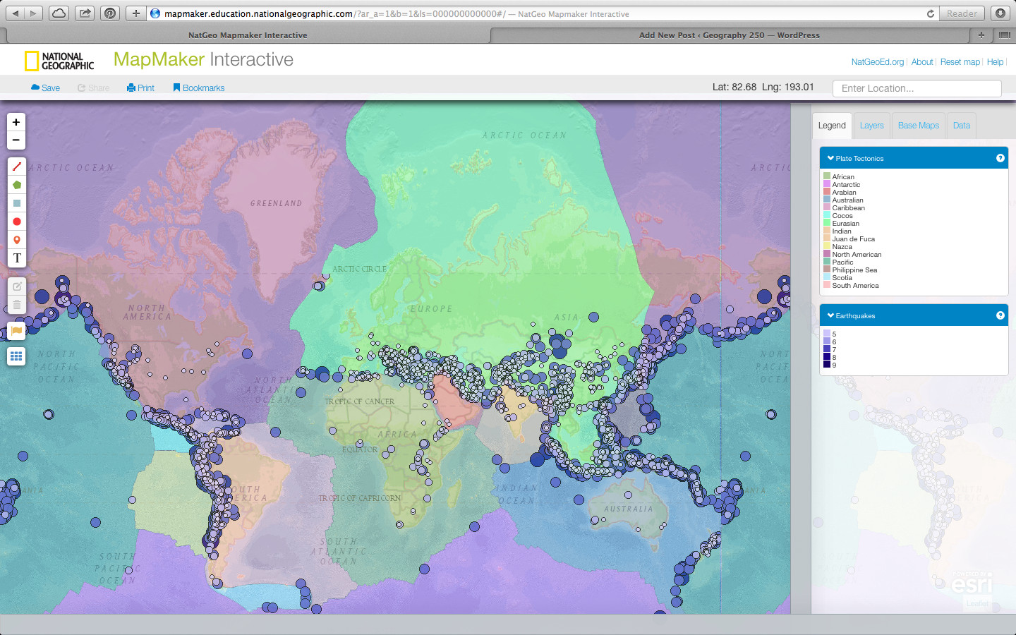 Printable Map Maker Unique World Map Maker Awesome Natgeo Mapmaker Interactive – Map Of The