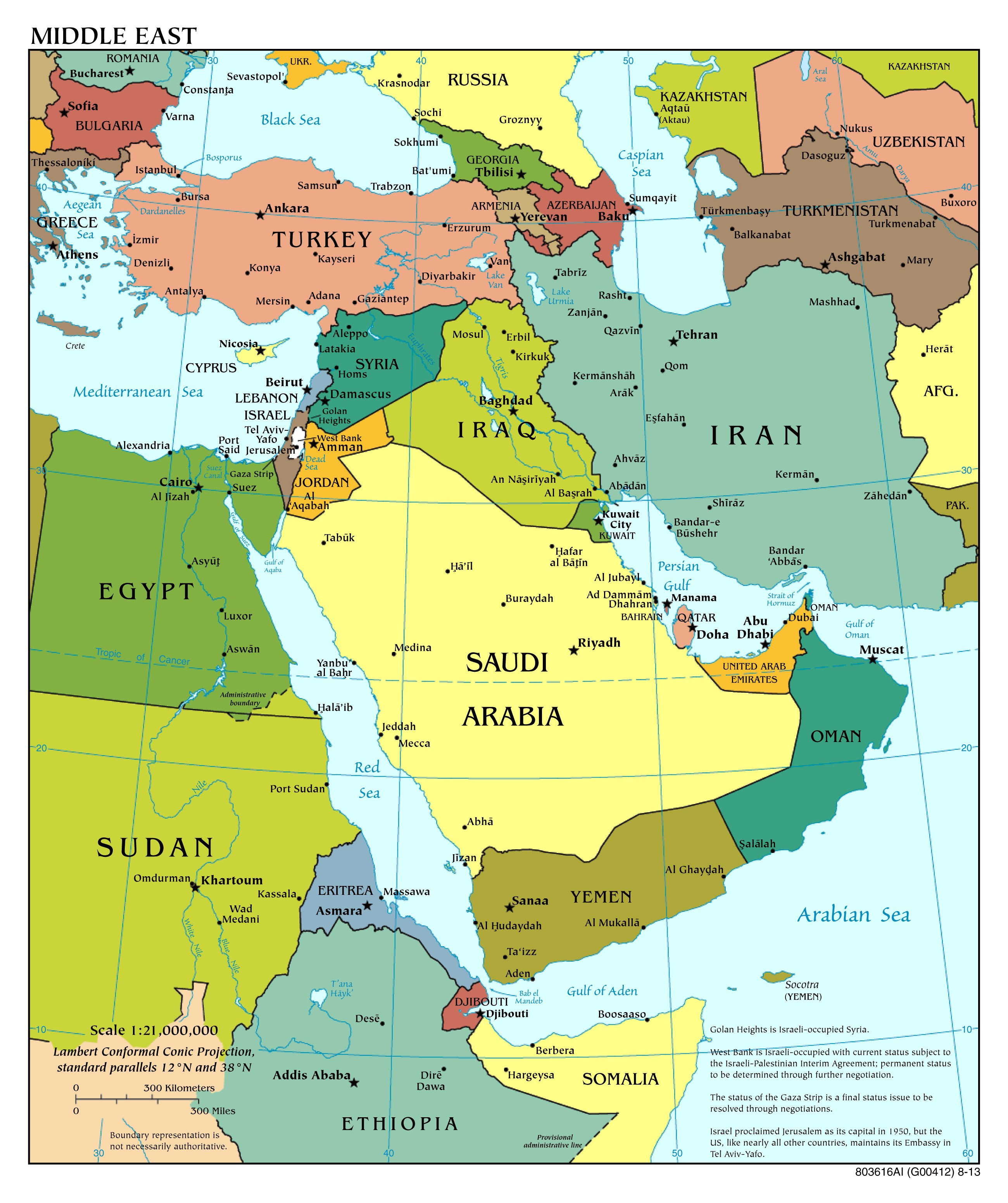 Printable Map Middle East Awesome Physical Maps The Middle East Fresh Middle East Map Cities