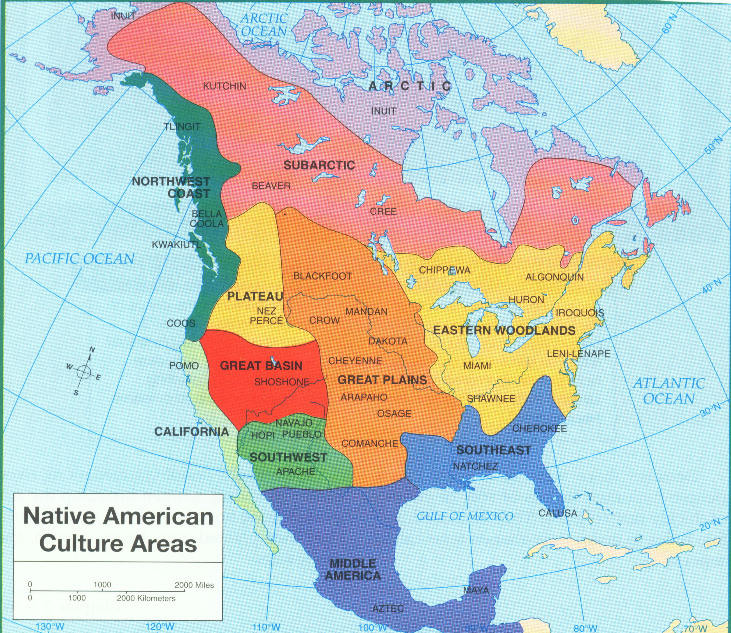 Printable Map Native American Tribes Lovely Map Of American Tribes In America Teacheng