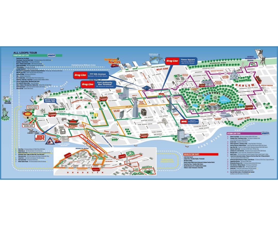 Printable Map New York City Awesome Map Tourist Attractions New York City Free Wallpaper For Maps