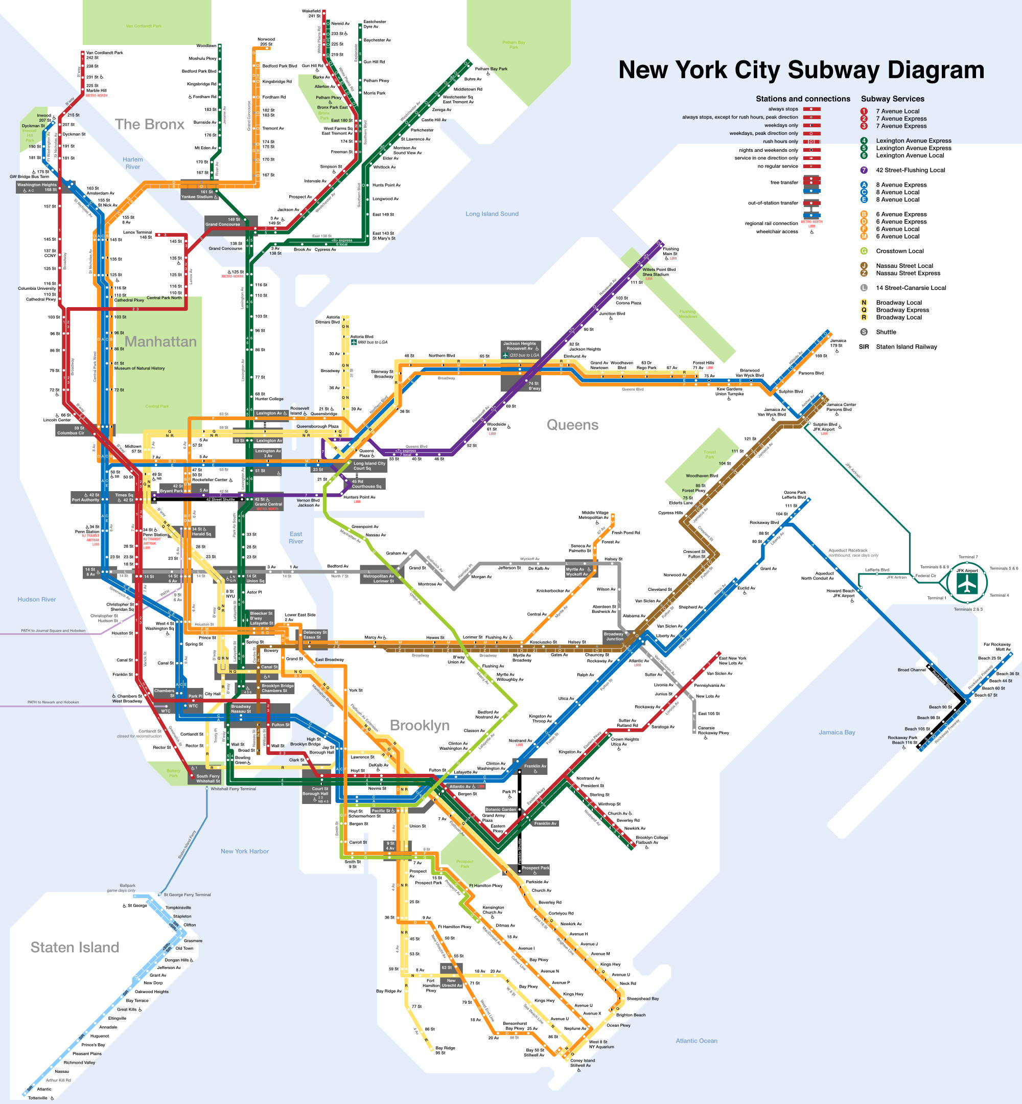 Printable Map New York City Fresh Printable New York City Map