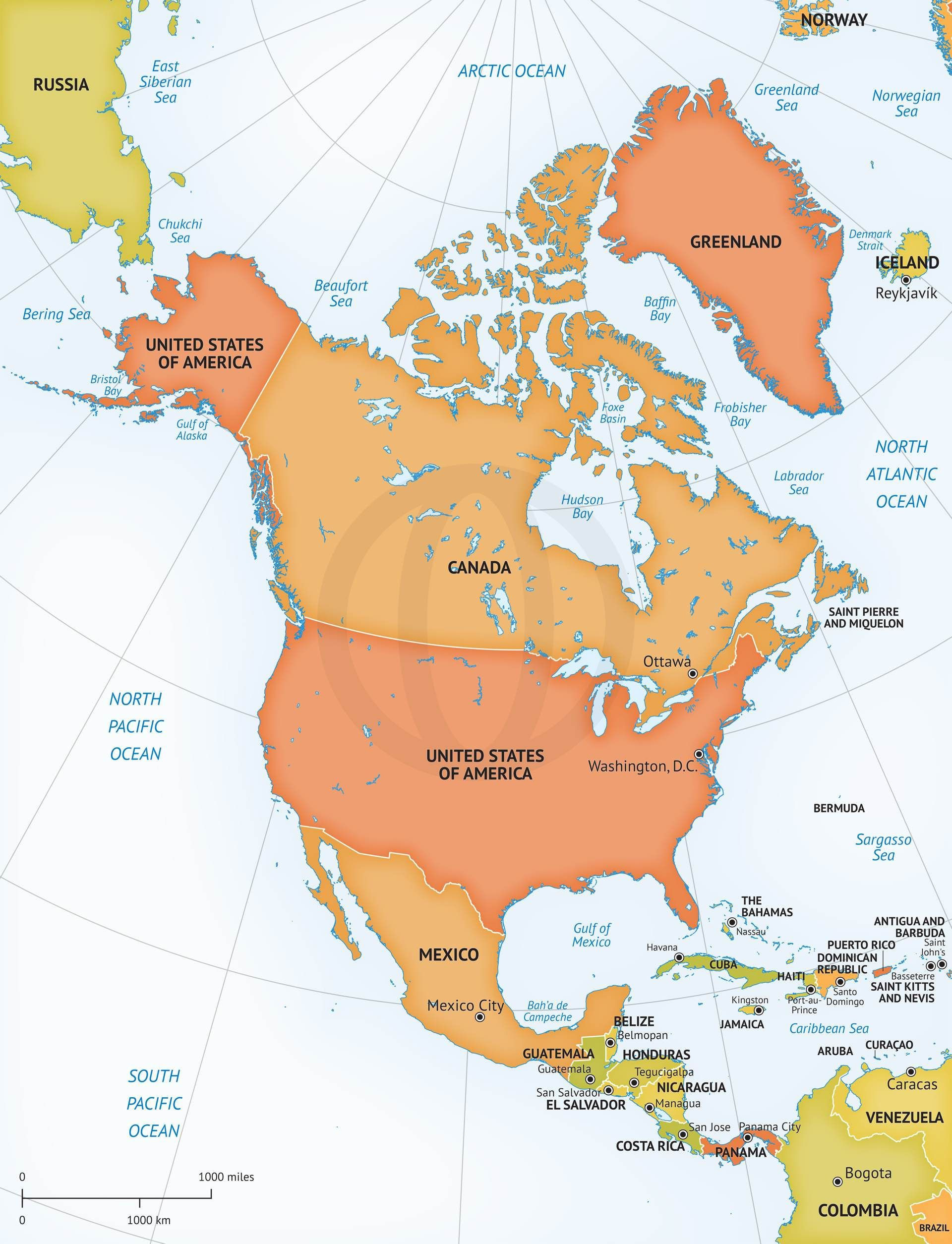 Printable Map North America Fresh High Resolution North America Map Valid Blank Us Map High Resolution