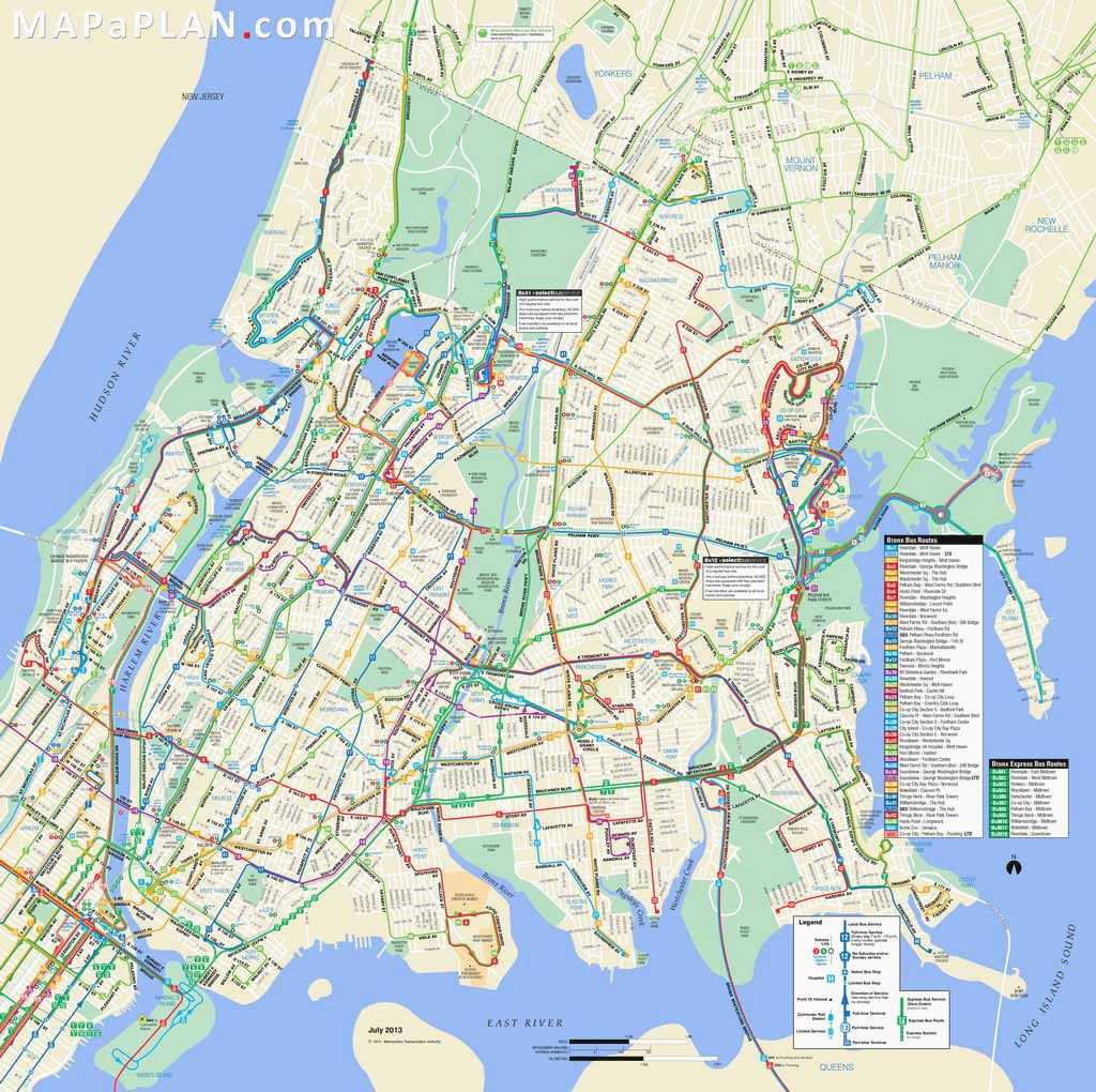 Printable Map Nyc Awesome Awesome Nyc Attractions Map