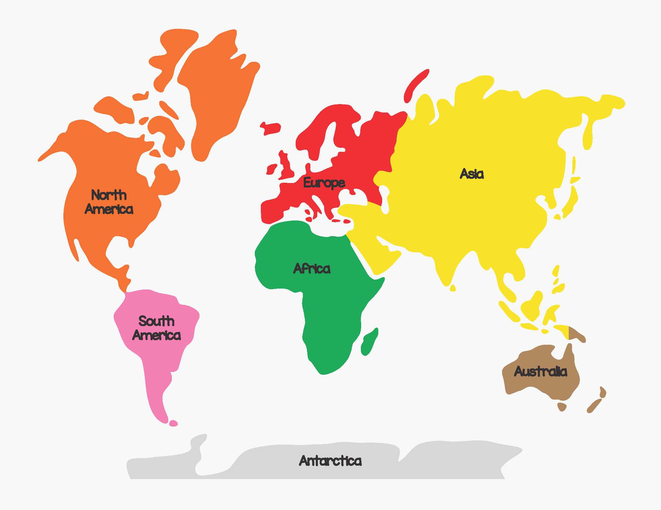 World Map Continents Amazing Category World Map 8 Great World Map Continents
