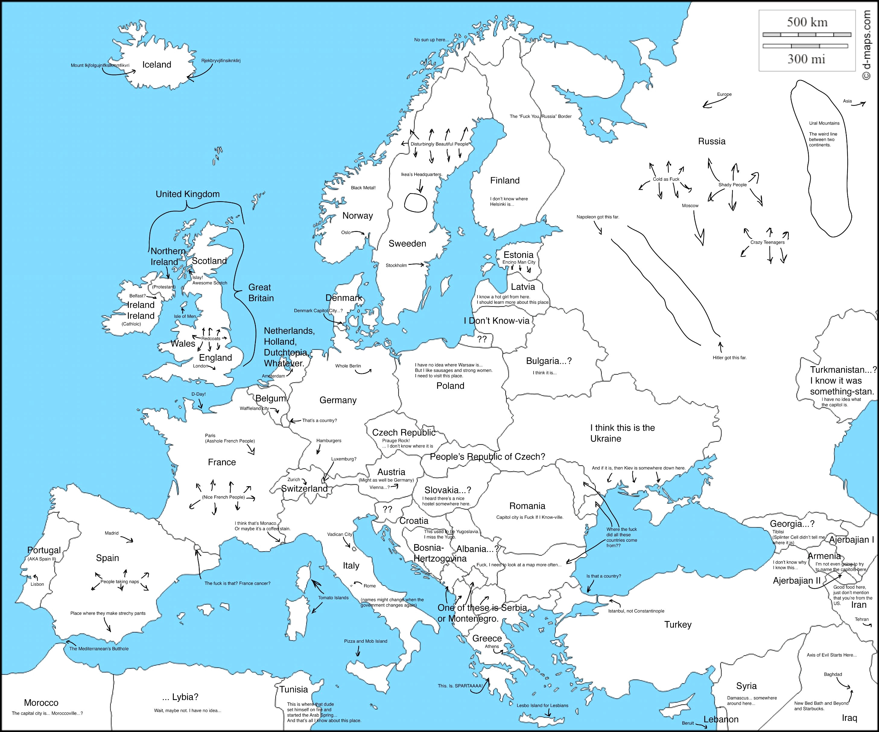 Printable Map Of Europe 1939 Unique Labeled Map Europe
