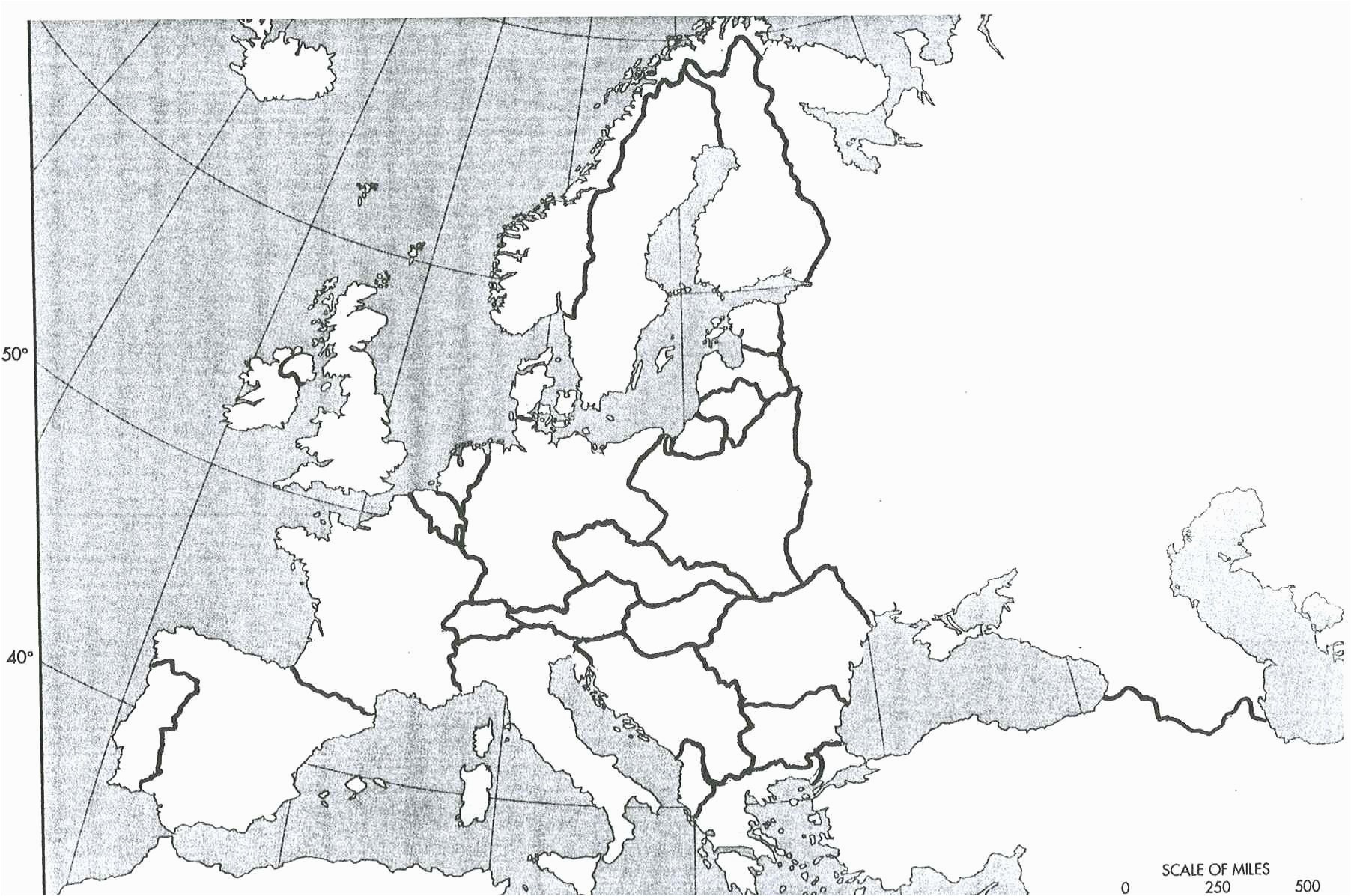 Printable Map Of Europe Elegant Maps The World Black And White Free Downloads Europe In World War