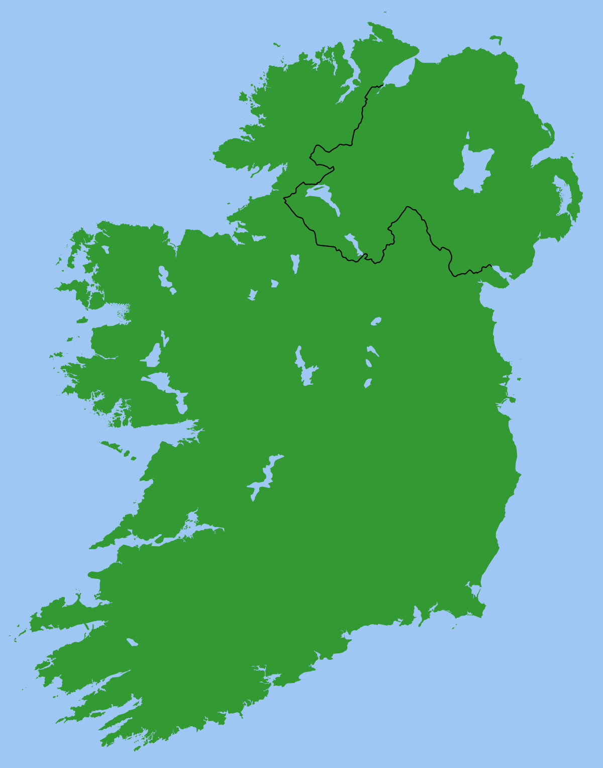 Printable Map Of Ireland Elegant Republic Of Ireland–united Kingdom Border