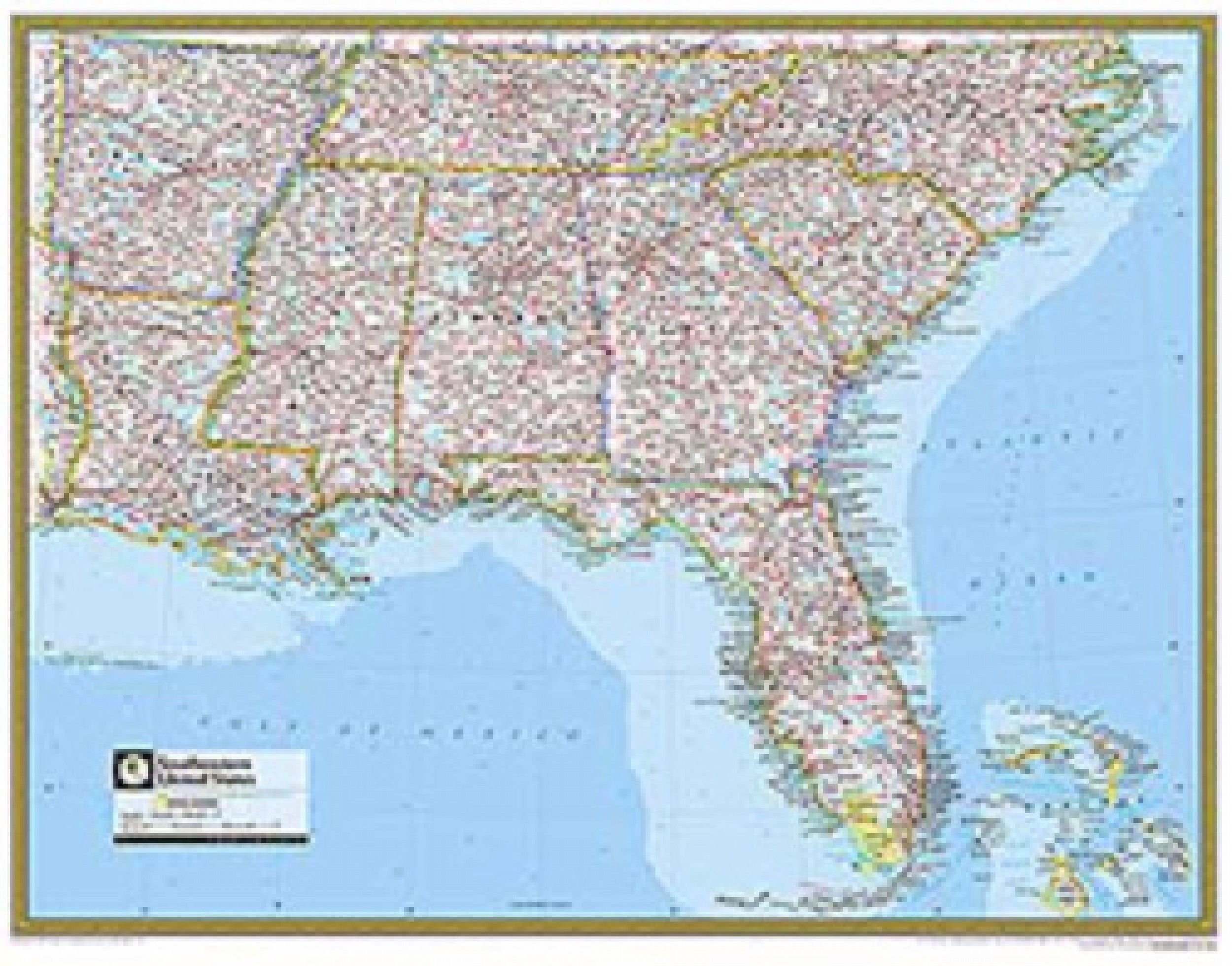 Printable Map Of the southeastern United States Awesome Road Maps Usa Road Map southeast Us Image Usa Map within Road