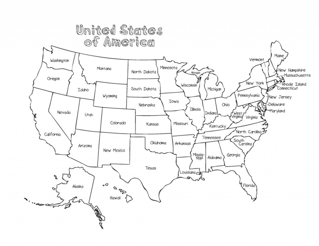 Printable Map Of The United States Color Luxury Usa Coloring Pages Mofassel