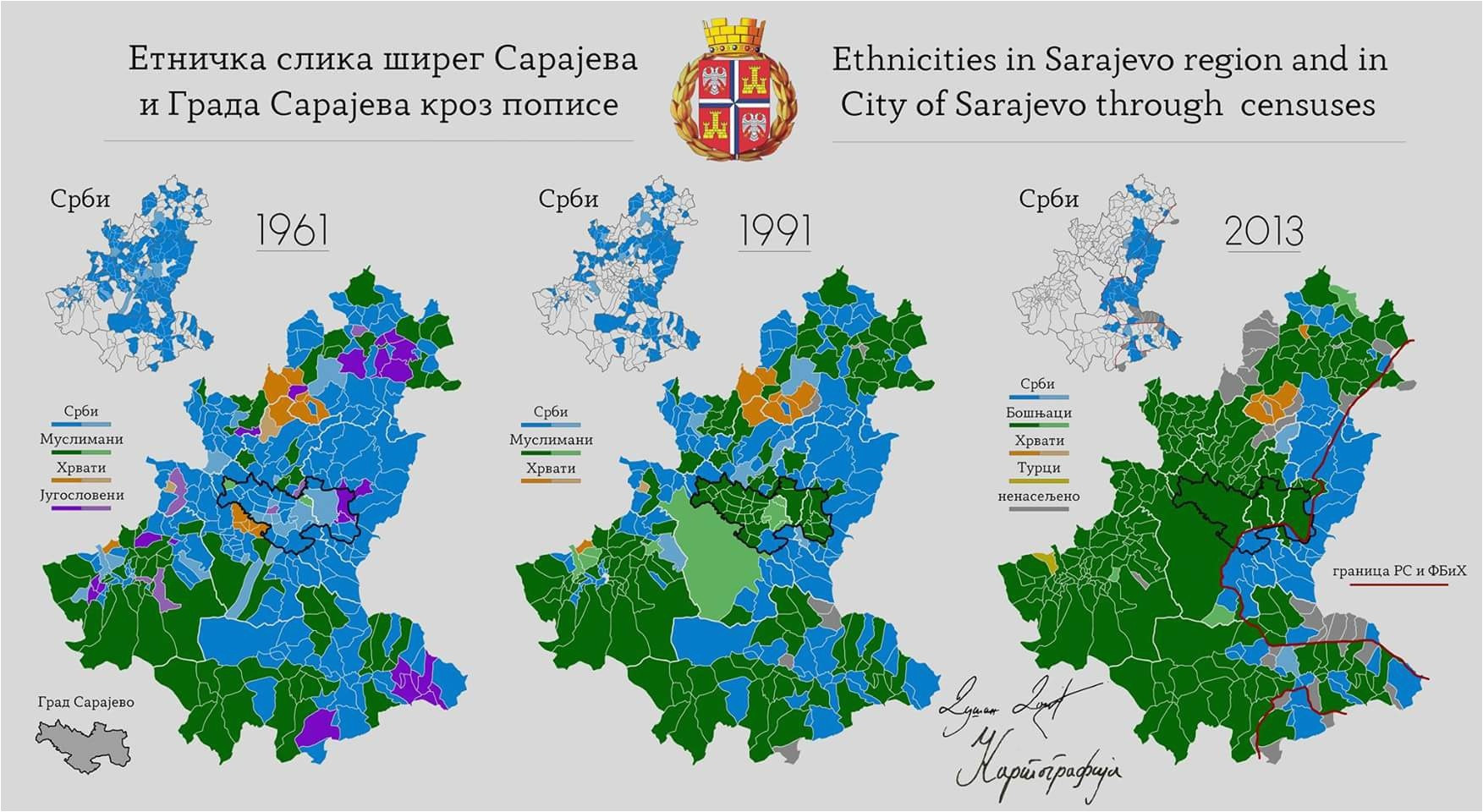 Printable Map Of The United States During The Civil War Beautiful Ethnic Map Od Sarajevo In 1961 Just Before The Civil War And After