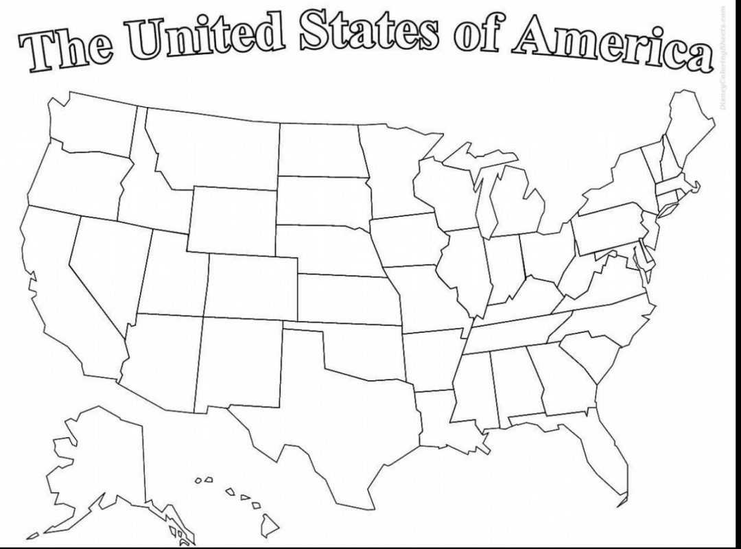 Printable Map Of the United States In Black and White Beautiful Us Map Coloringge Pdf Free Printable United States Line Amazing X