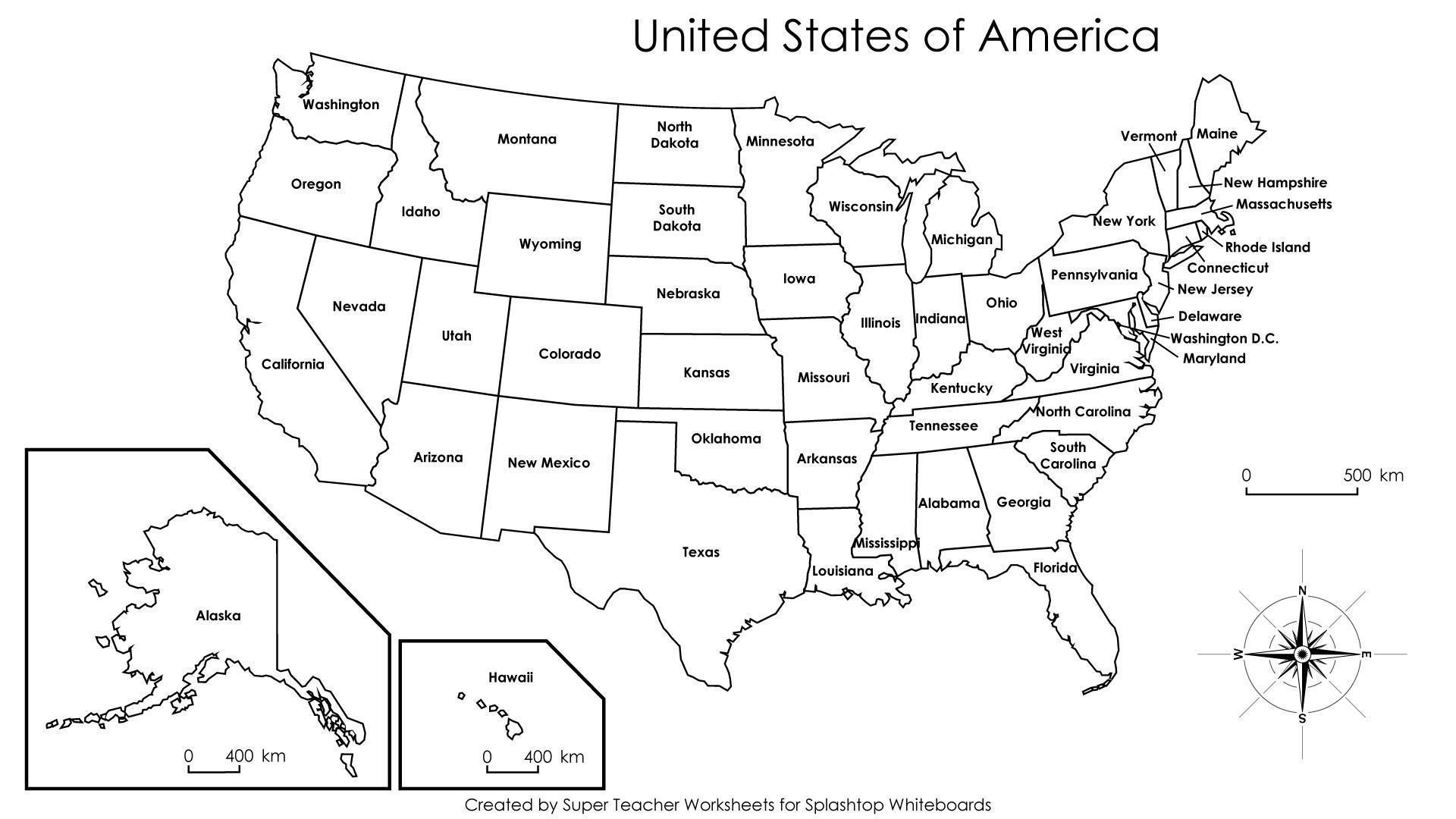 United States Map Label Worksheet New Us Map Labeled States And