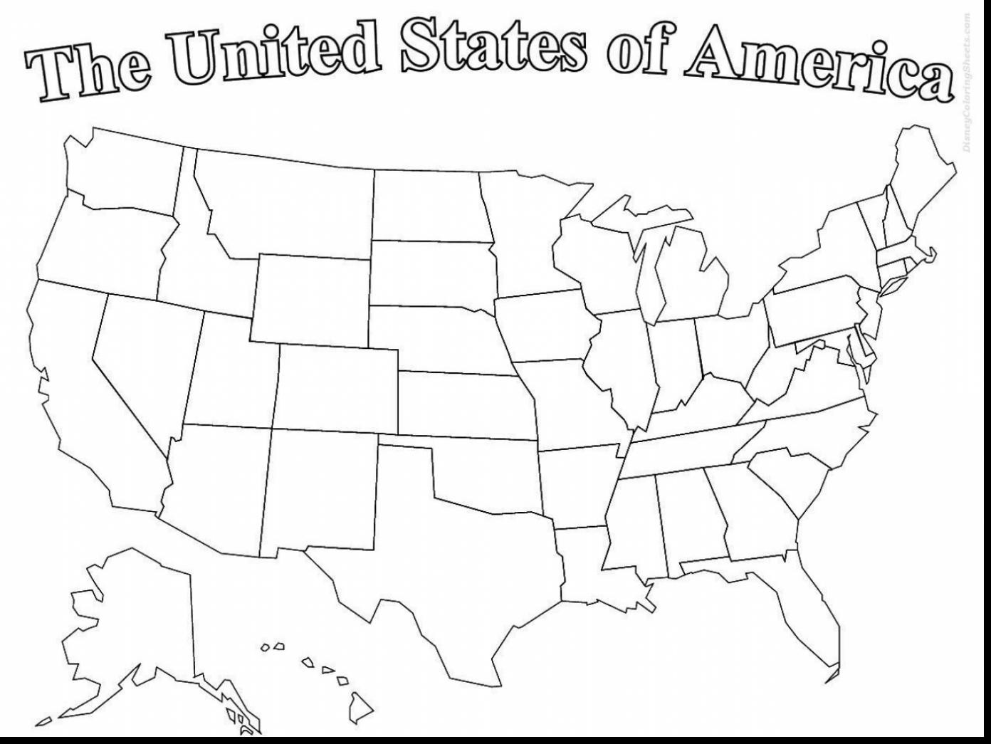 Printable Map Of the United States to Label Awesome United States Drawing at Getdrawings