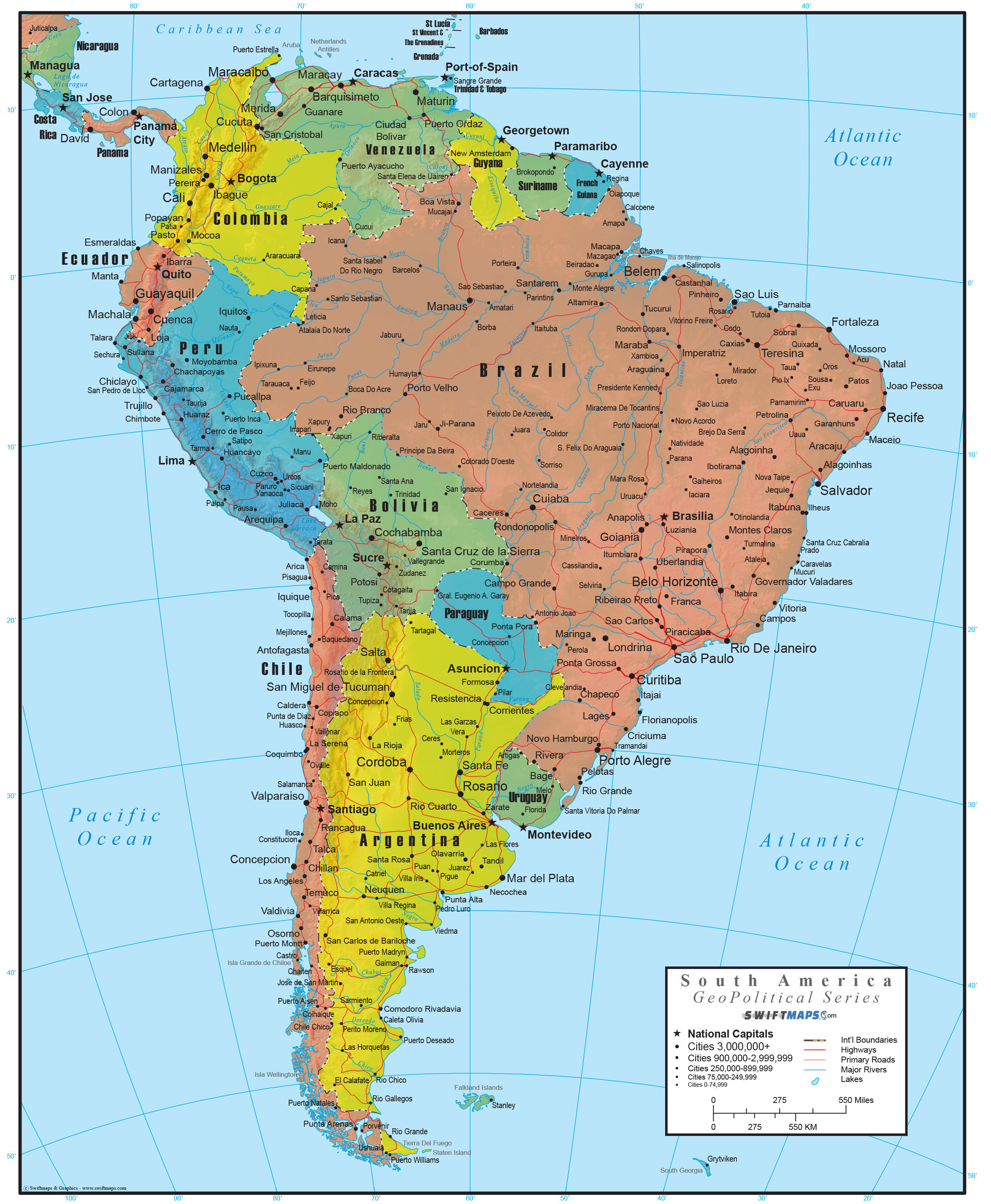 Rivers In south America Map Inspirational United States Map Mountain
