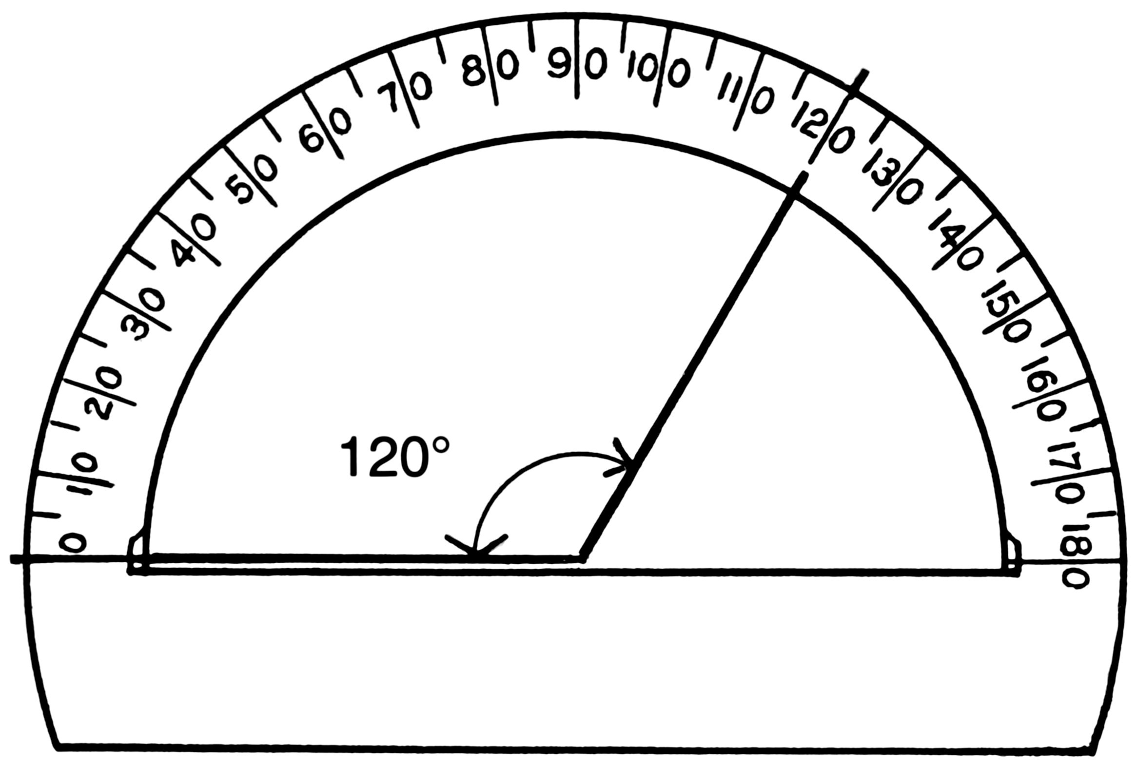 Circular Protractor Template Luxury Horizontal Line Drawing at Getdrawings