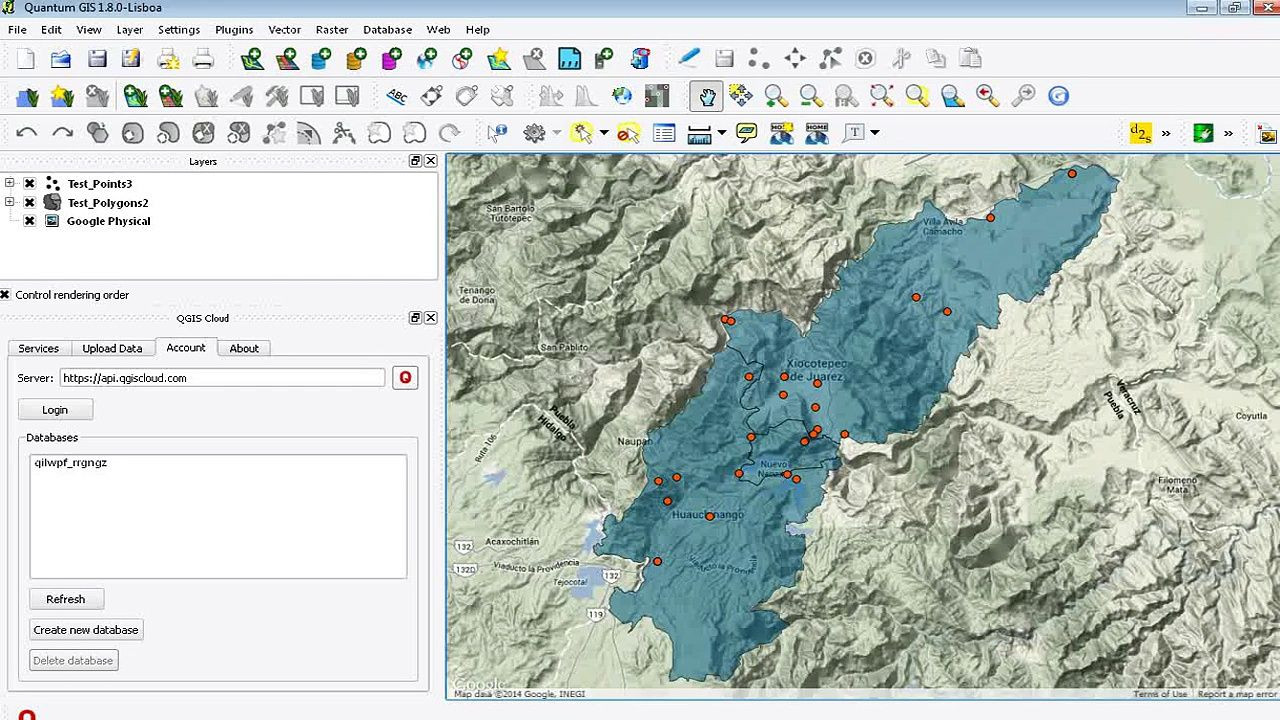 Printable Map Qgis Beautiful Make Web Maps with Qgis Cloud Geography Pinterest