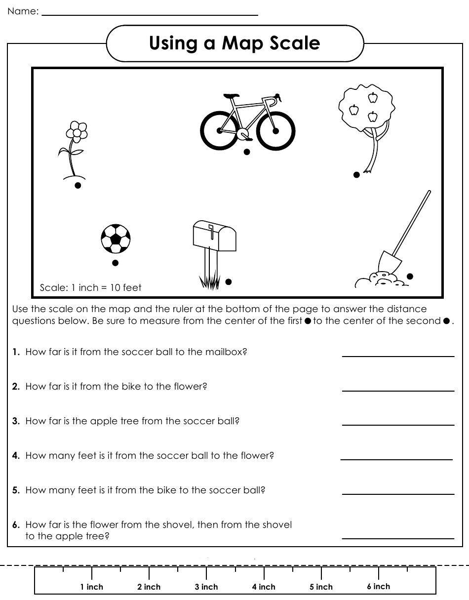 Printable Map Reading Worksheets Beautiful Scale Factor Worksheet Google Search …