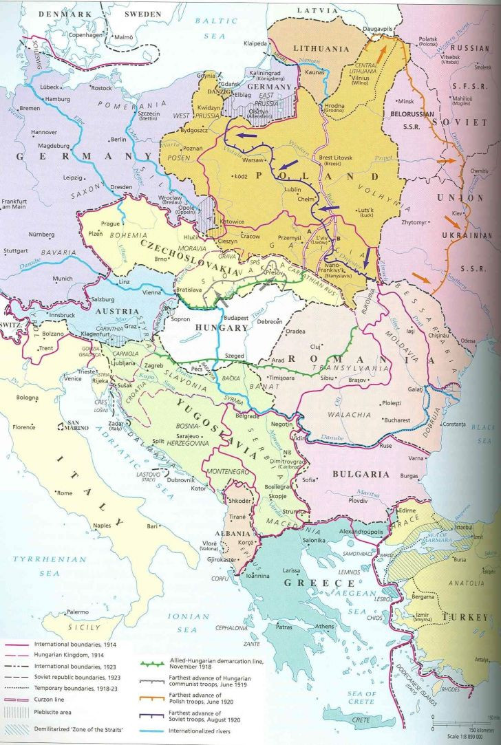 Printable Map Europe Unique Map Eastern Europe – Map the World with Countries