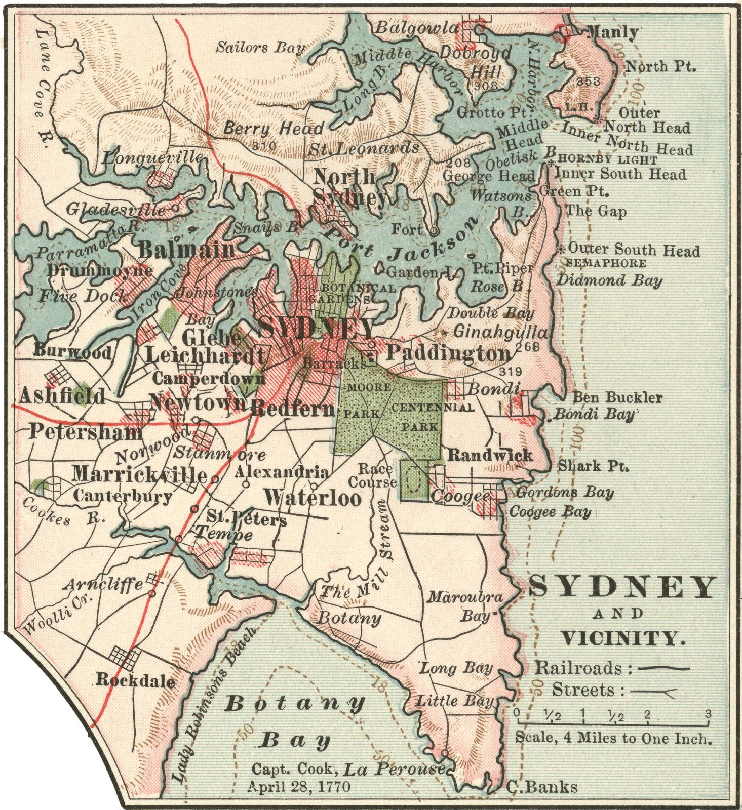 Printable Map Tasmania Beautiful Map Of Sydney Cove 1788 Google Search Vintage Maps