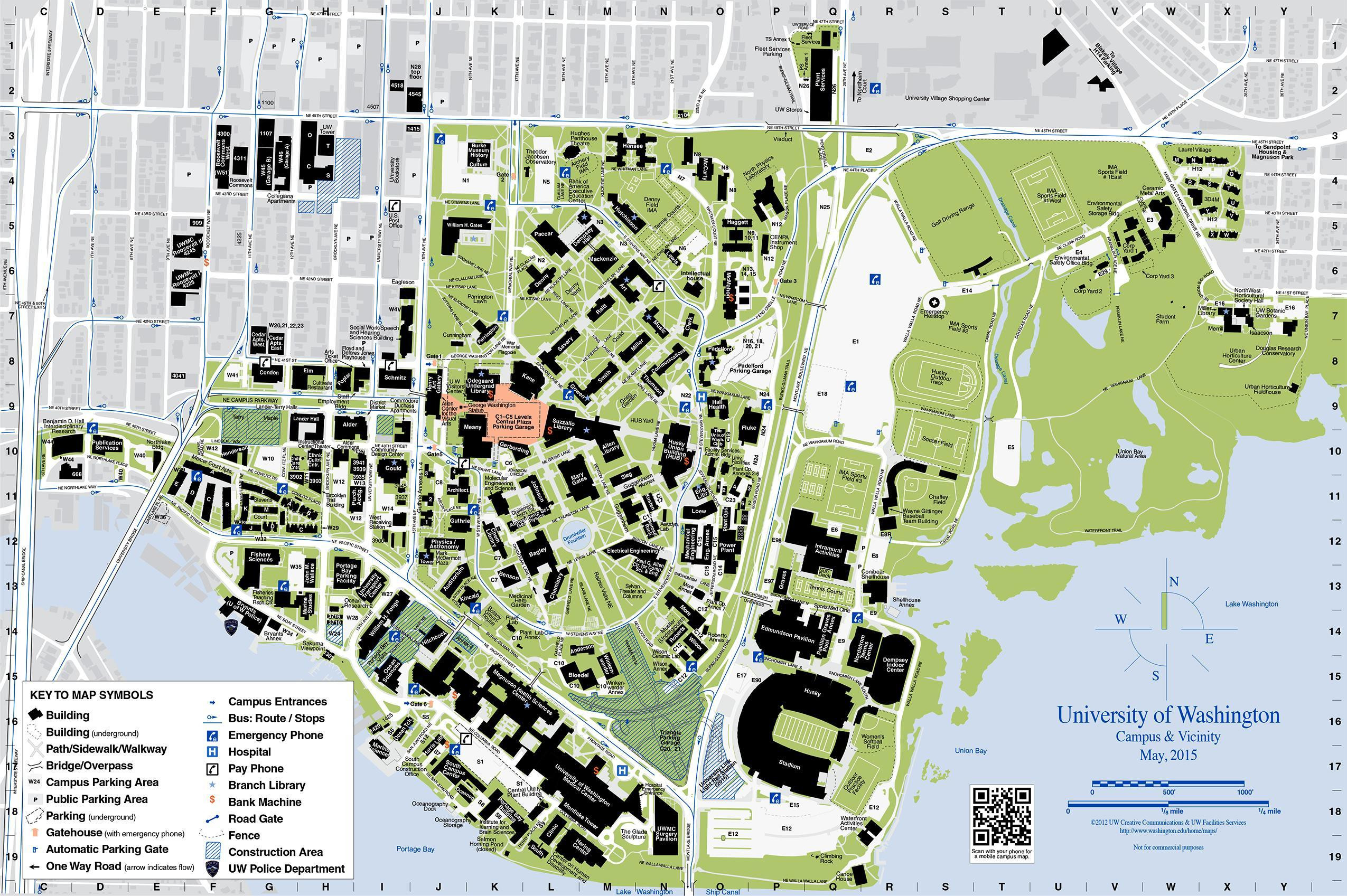 ucf campus map printable 4K