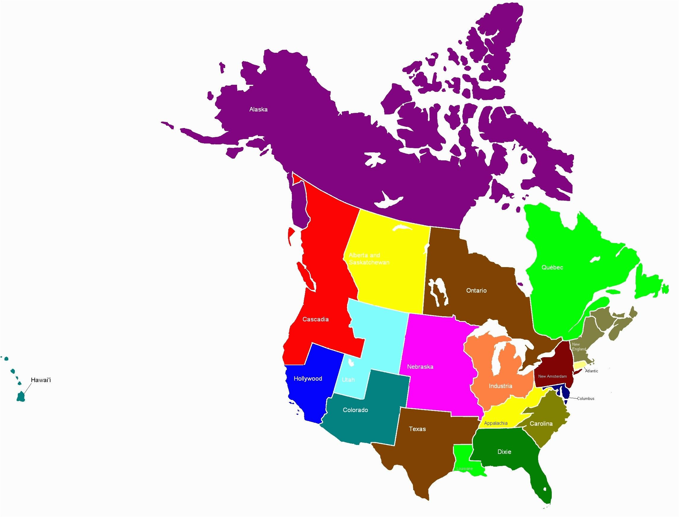 Printable Map Usa Awesome Map Usa Canada Unique Printable Map Us And Canada Best I Pinimg