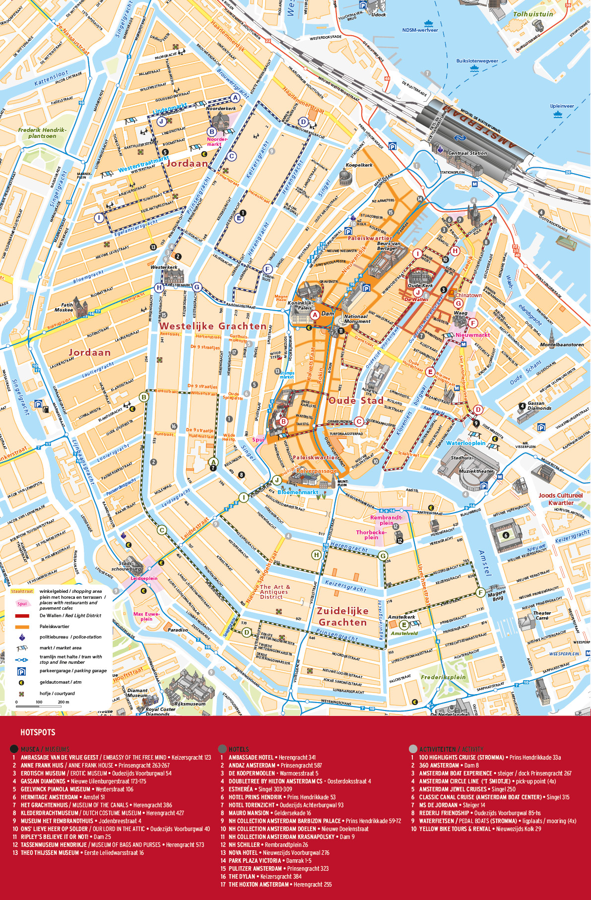 Printable Map Venice Lovely Map Of Amsterdam City Centre Tourist Full Hd Maps Locations