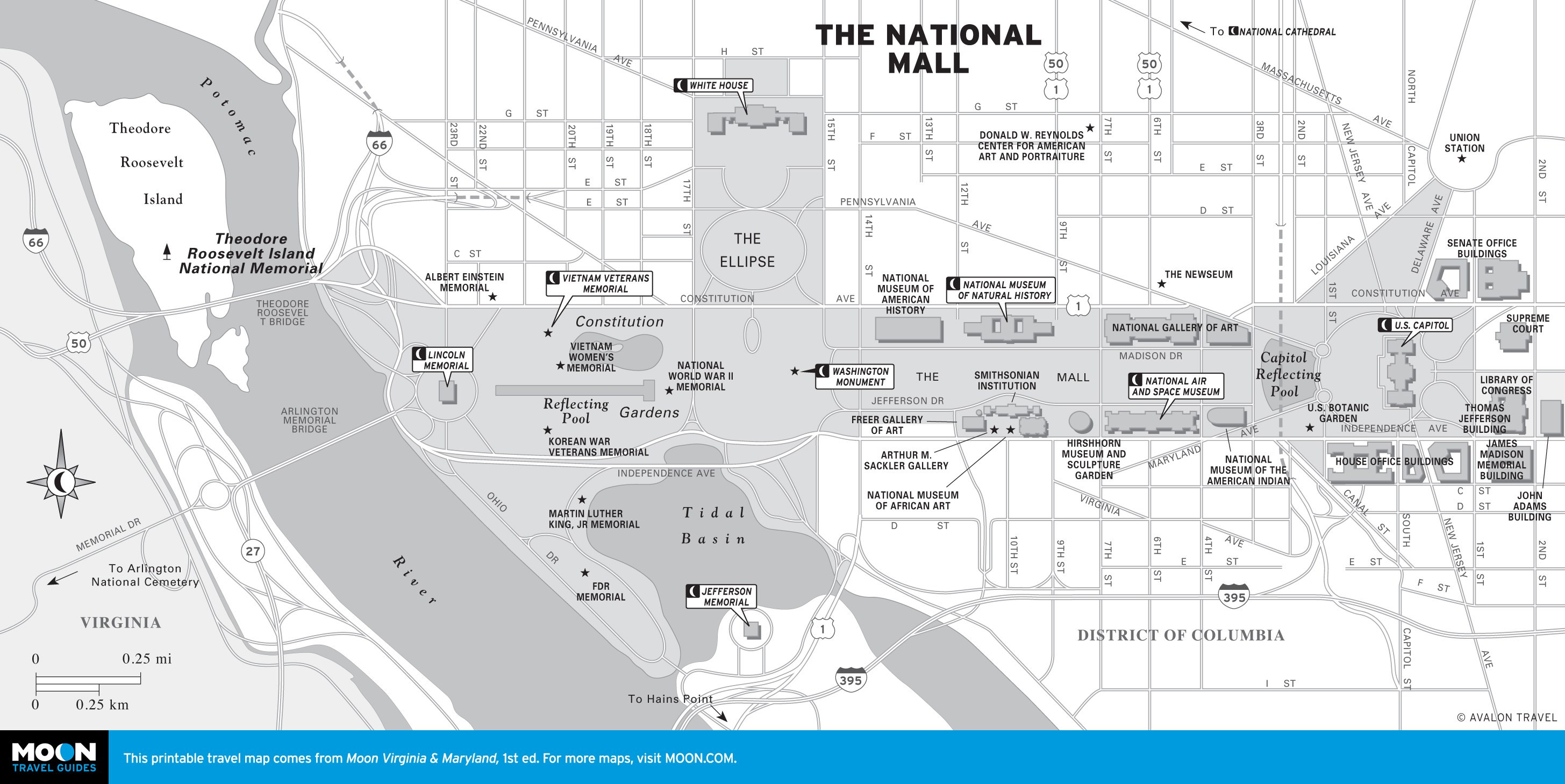 Printable Map Washington Dc Best Of Printable Travel Maps Of Washington Dc
