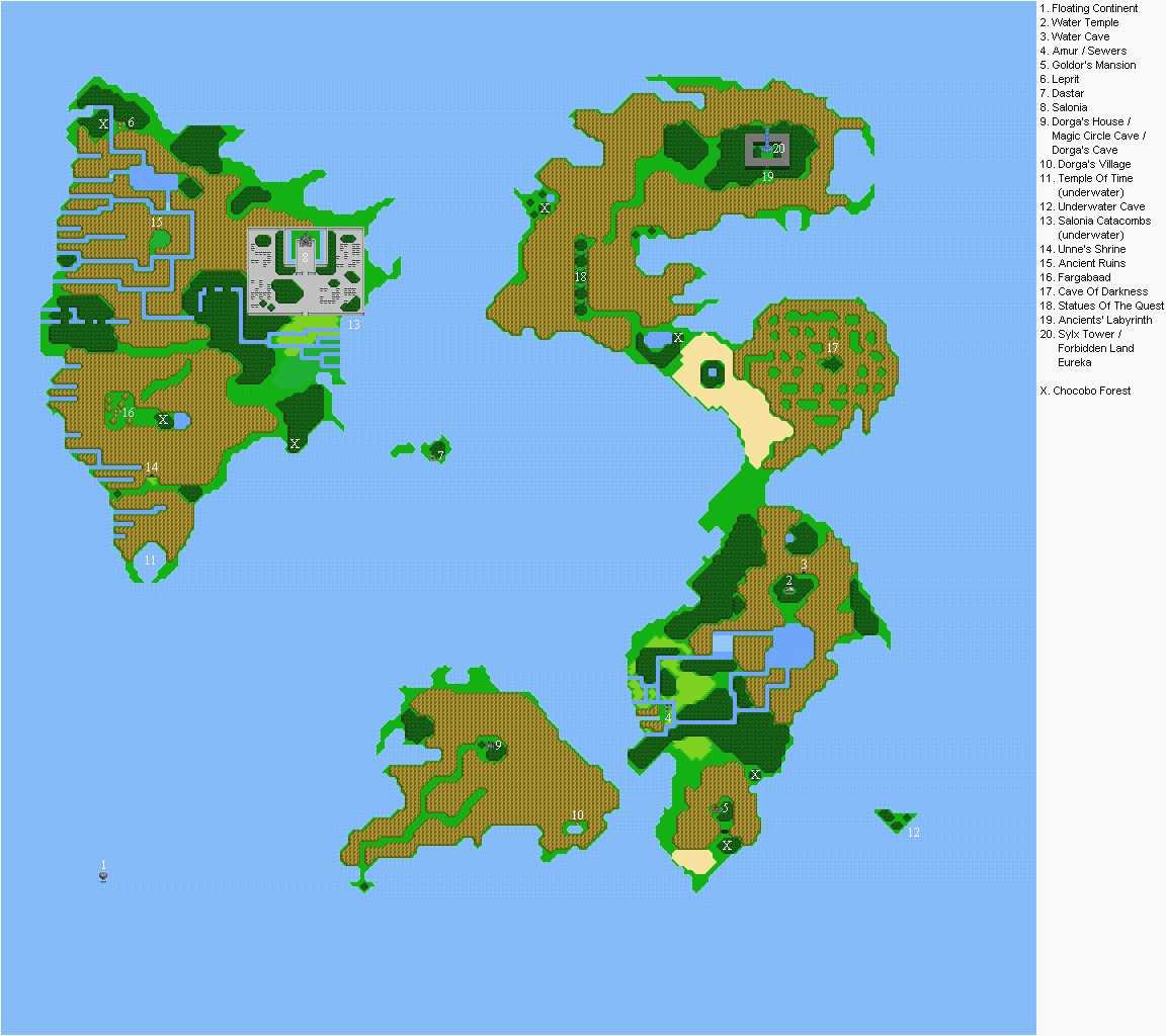 Printable Maps the World Awesome I Pinimg originals 0d 45 9a and Final Fantasy 1 World Map Map Quest