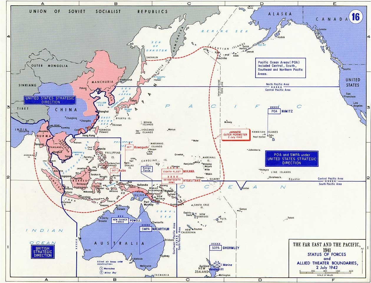 Asia Map Pics asia Europe Map Battle Map Showing the area the Far East and Pacific 1941 0d 316 14 Kb