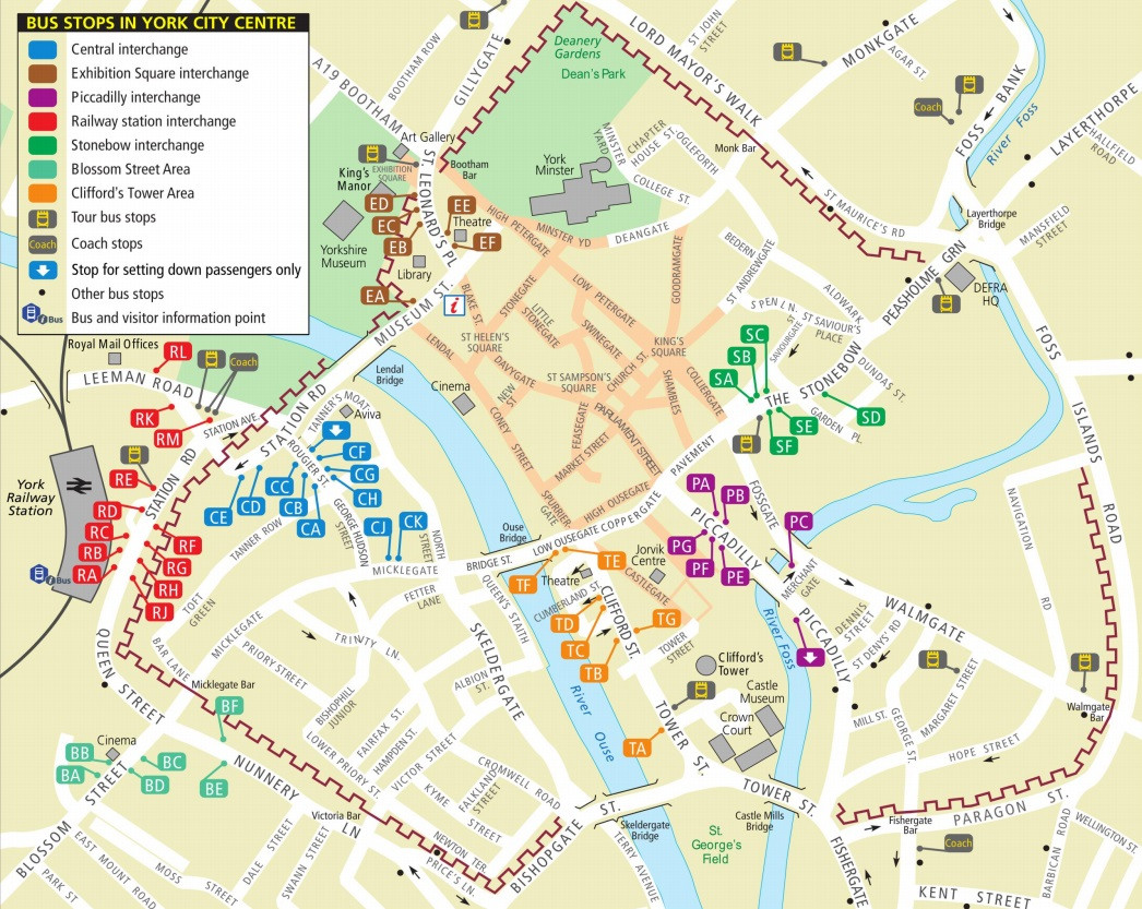 York By Bus Maps Timetables Fares