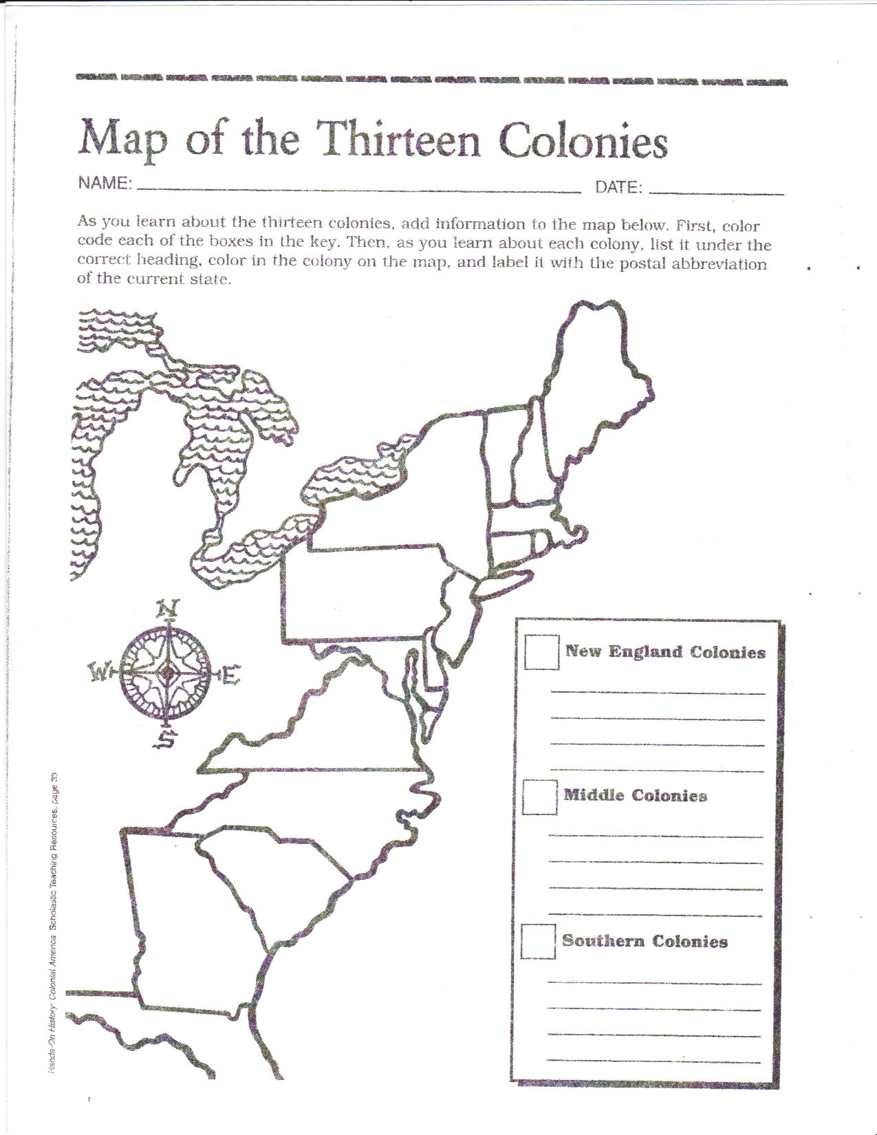 Printable Outline Map 13 Colonies Elegant Category Maps 134