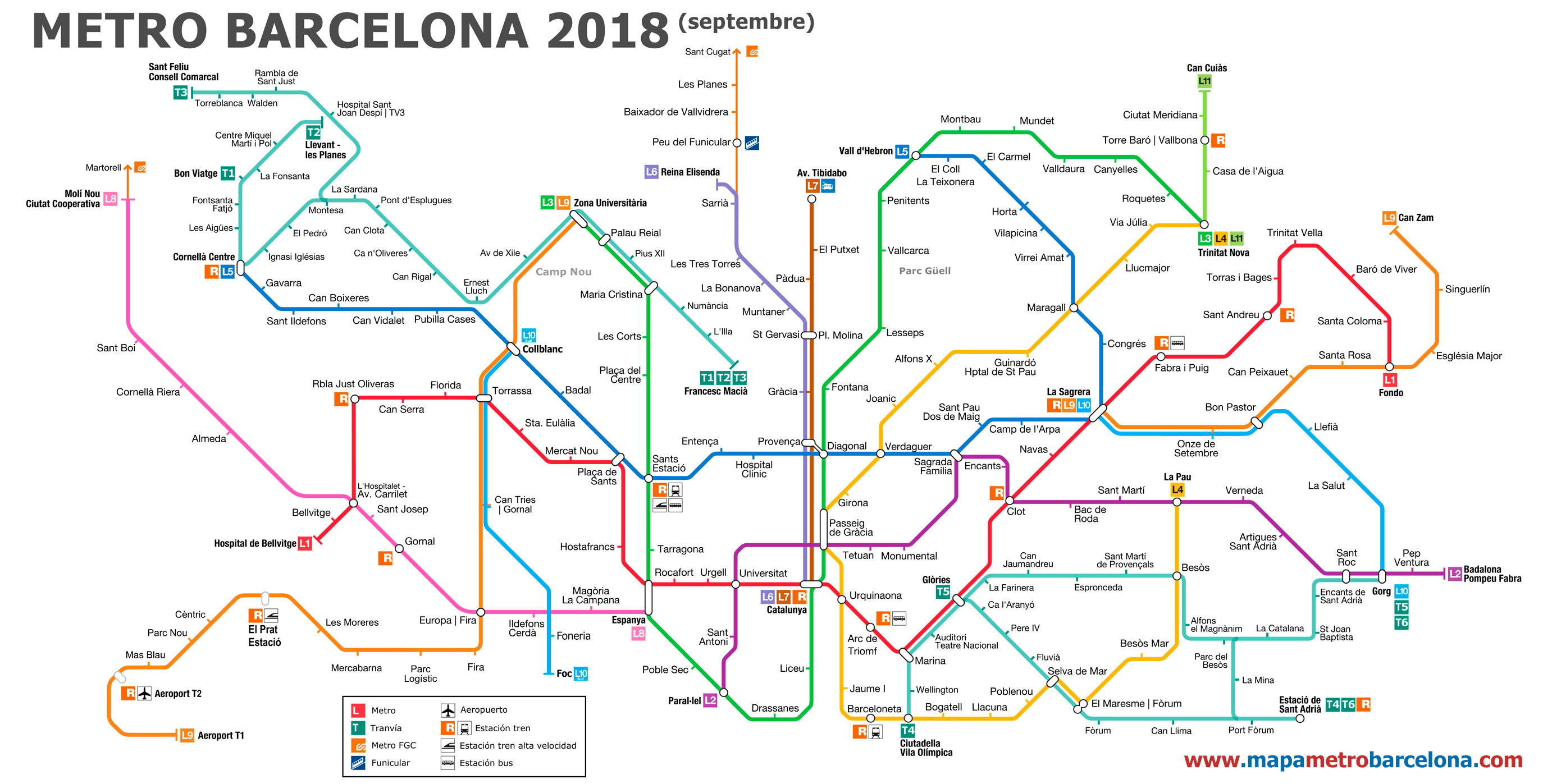 Printable Tube Map 2014 Best Of Metro Map Of Barcelona 2018 The Best