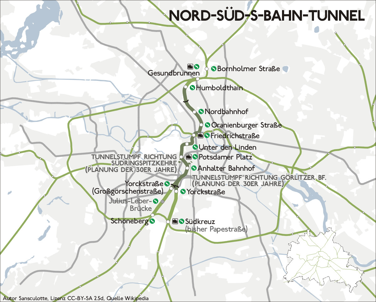 Printable U Bahn Map Berlin Awesome Berlin nord Süd Tunnel