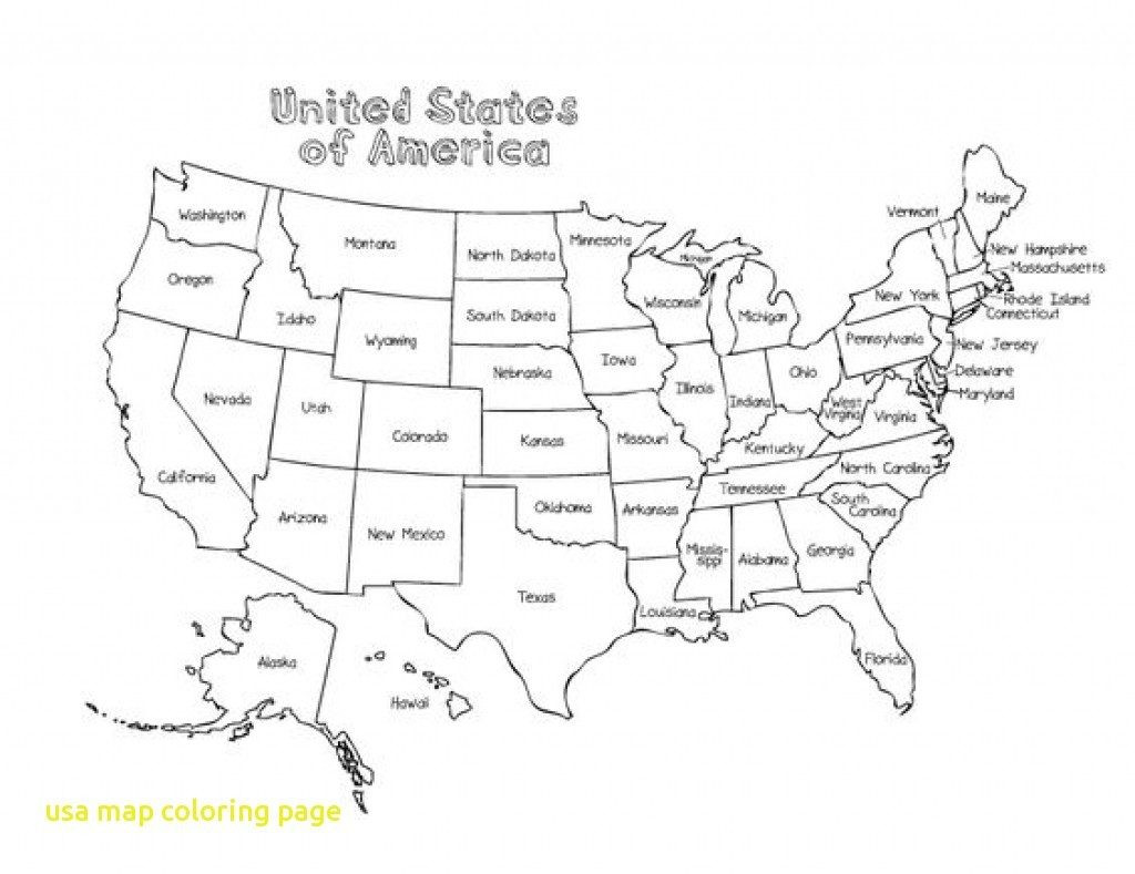 Printable Us Map 8.5 X 11 Lovely United States Map Printout Town Seek