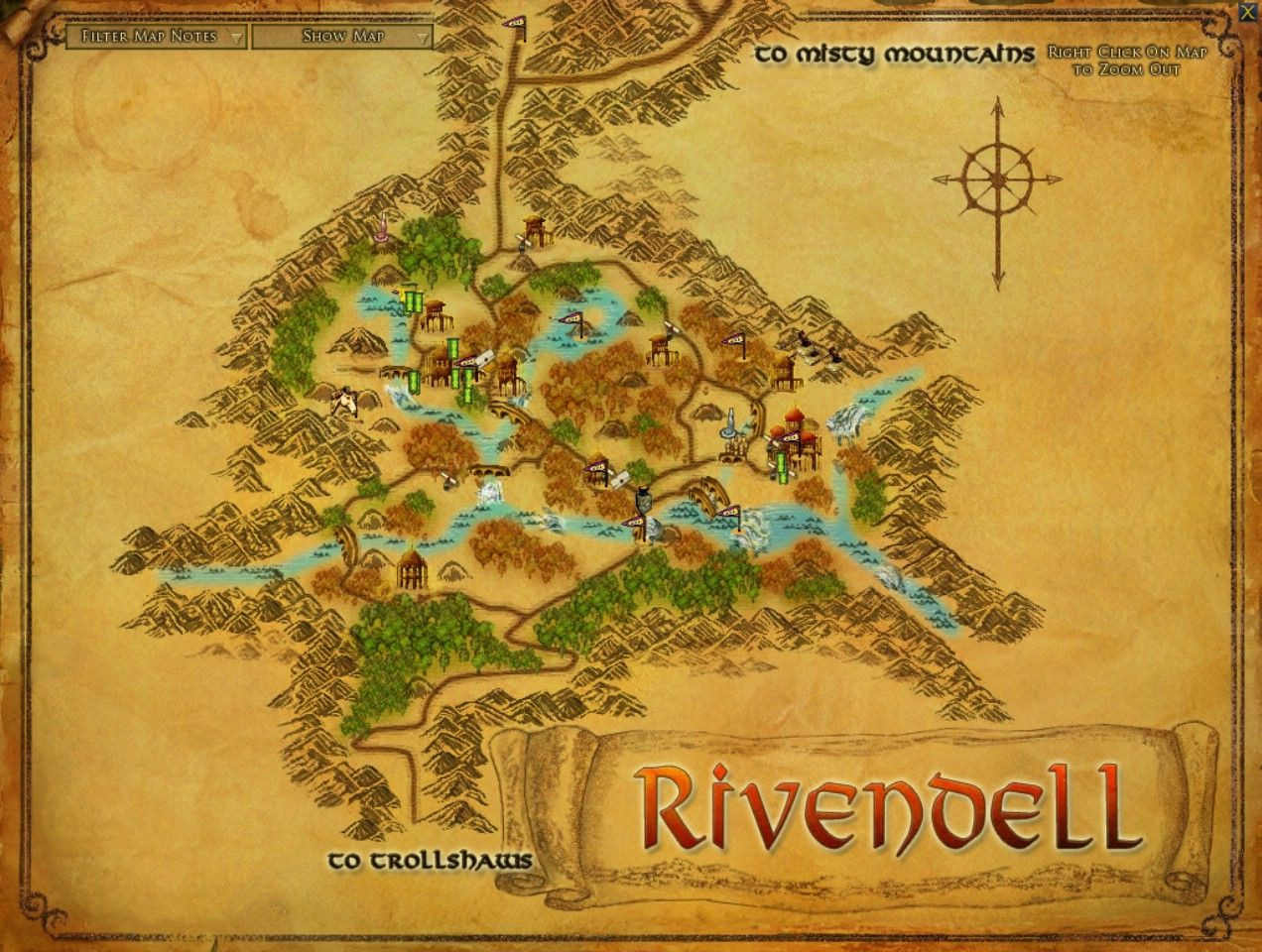 Printable World Map 11x17 Lovely A Detailed Map Of Rivendell I Want To Spend Time In The Library