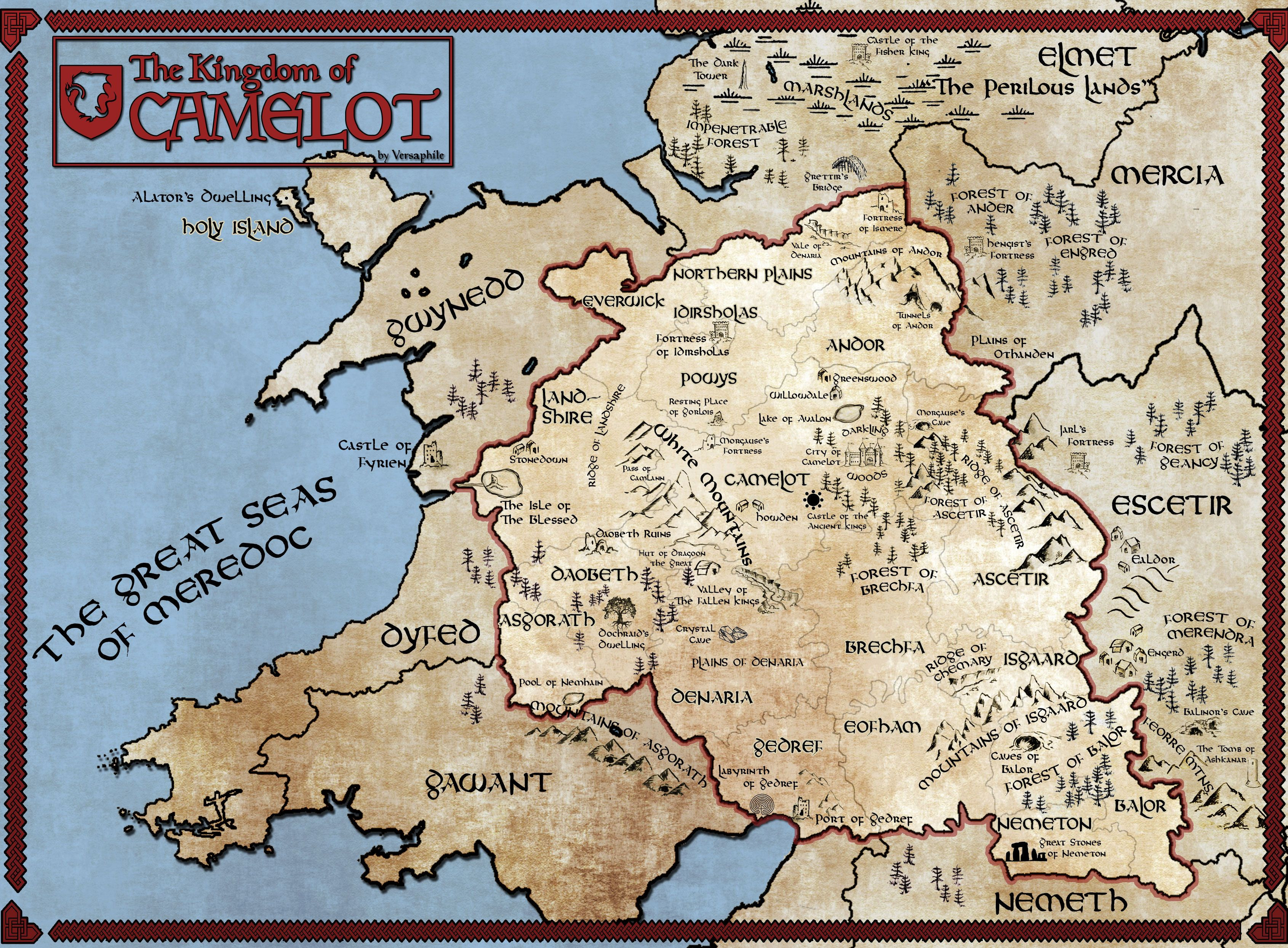 Printable World Map 11x17 Unique Image Result For Map Of Camelot Merlin Merlin
