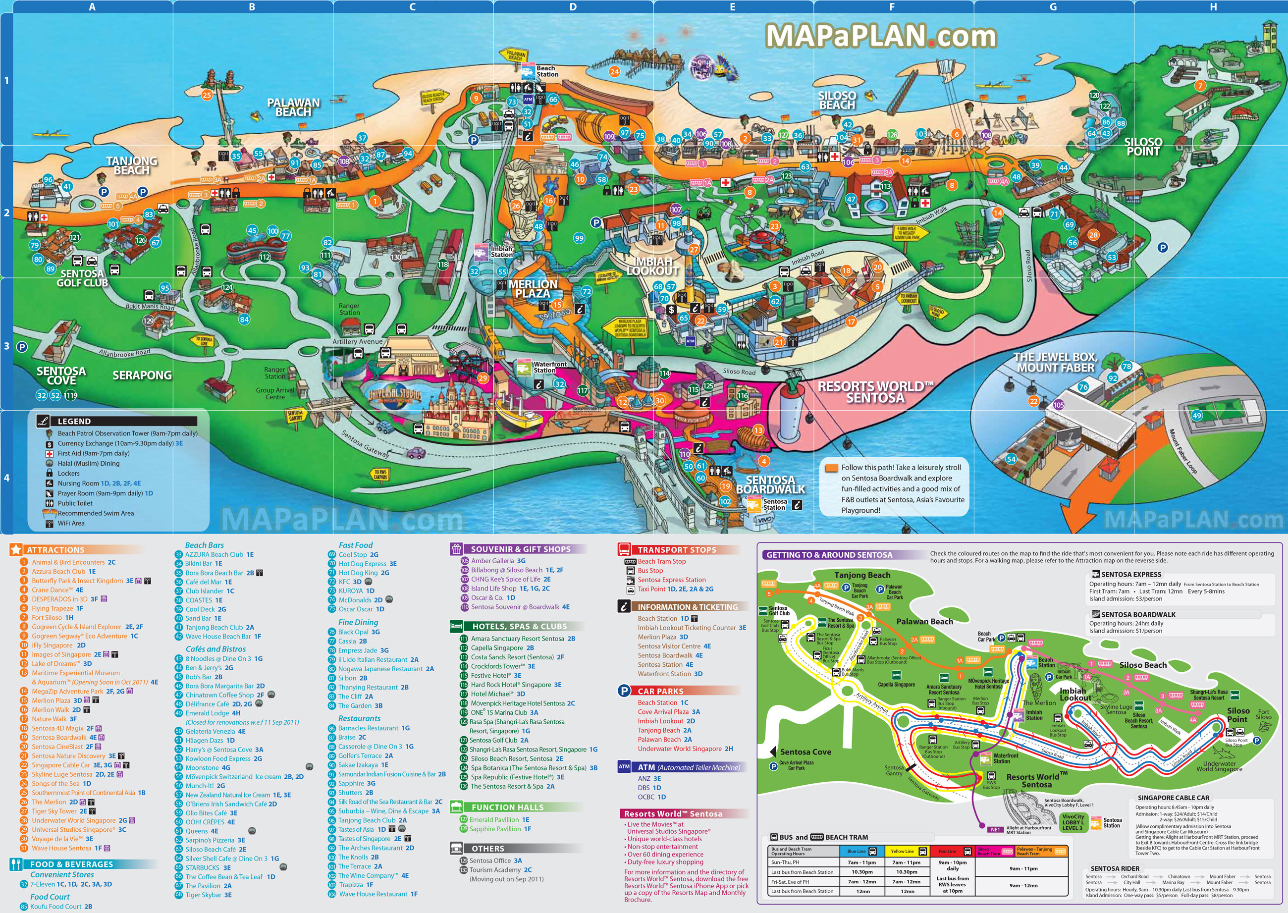 Wet N Wild Printable Map New Singapore Maps Top Tourist Attractions Free Printable City