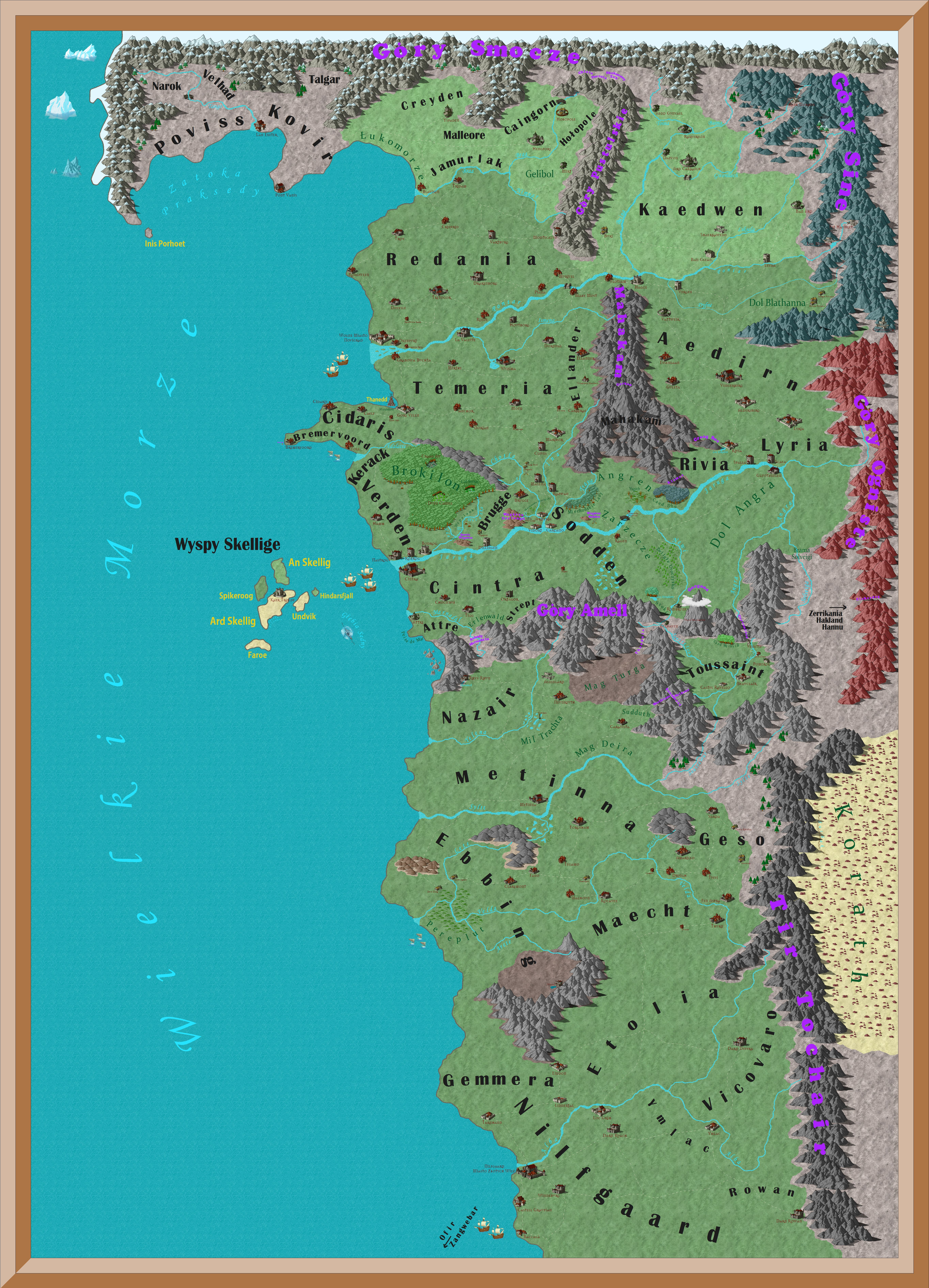 Witcher 3 Printable Maps Fresh Is There A Plete Map Of The World Of The Witcher E That Shows