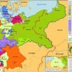 10 Best Historical Maps: Germany & Chicago, Il Images On Pinterest In German States Map 1850
