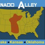 10 Striking Facts About The Twisters From Tornado Alley With Regard To Tornado Alley States Map