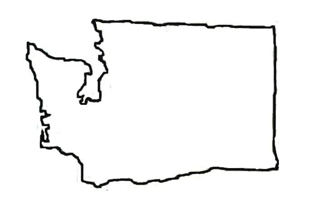 11+ Washington State Outline Map | Phoenixanarchist with Washington State Map Outline