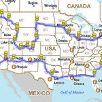 12,225 Mile Road Trip Around America In A 5 Minute Time Lapse Within United States Road Trip Map