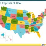 13+ Us Map With States Capitals And Abbreviations With Regard To Usa Map With States Capitals And Abbreviations