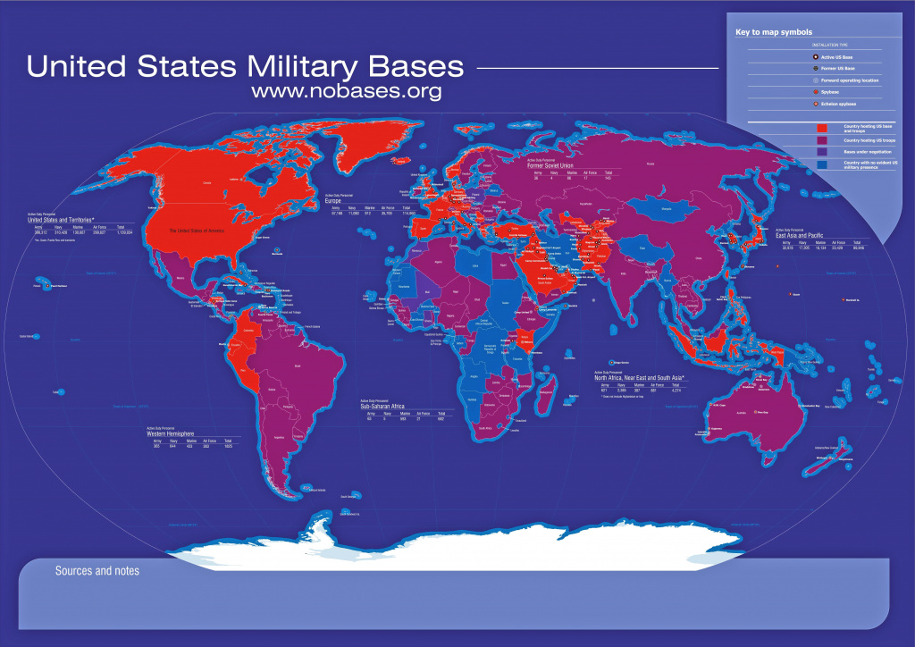 14 In Map Of Us Military Bases In Europe - Free World Maps Collection pertaining to United States Military Bases World Map