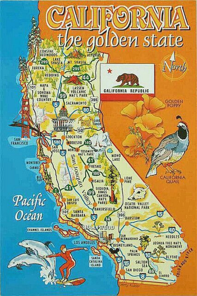 16 Best California Images On Pinterest | California Map, Vintage in Golden State Map Location