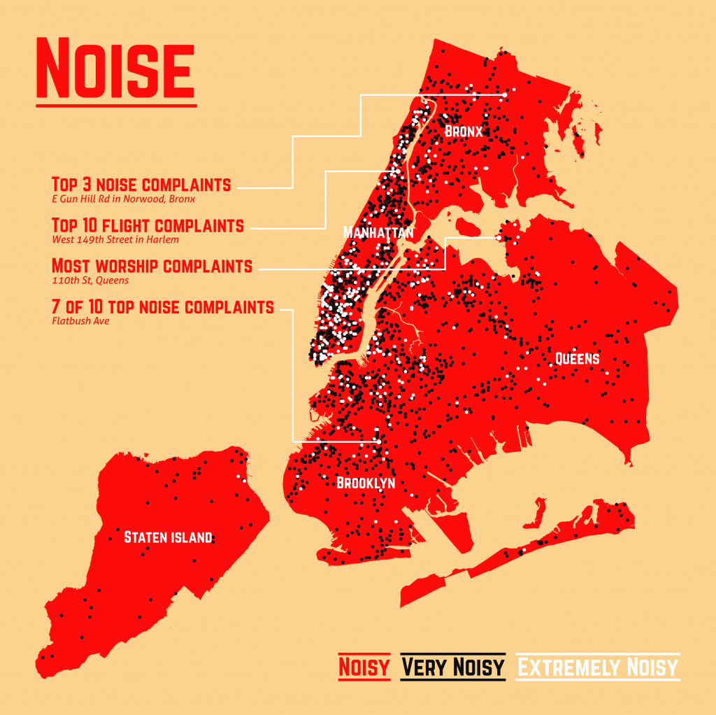 16 Maps That'll Change How You See New York City | Huffpost intended for New York State Crime Map