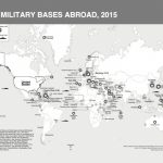 "17 Maps Of U.s. Military Bases Abroad From ""base Nation"" In Military Bases United States Map"