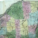 1833 Map Of New York State: Andrus, Judd, Hartford, Conn.: Daily With Regard To Map Of Northern Ny State