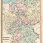 1850 Cruchley Map Of Germany | Maps | Pinterest | Map, Germany And With German States Map 1850